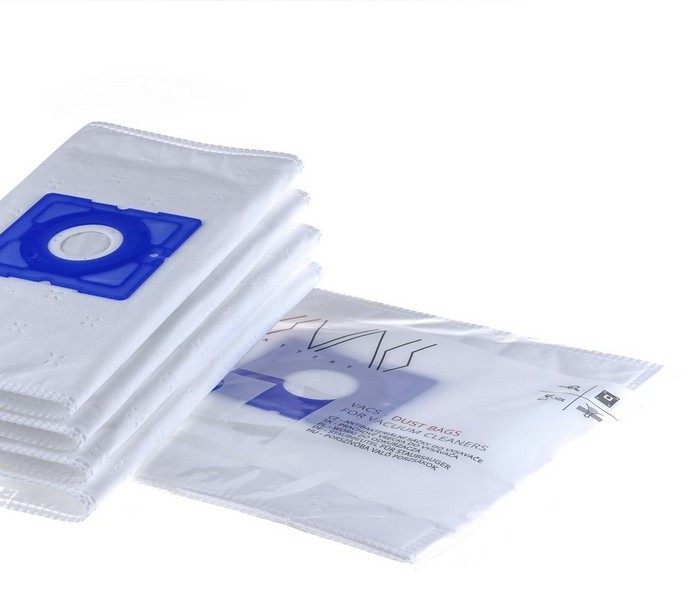 VACS Staubsaugerbeutel Für DIRT DEVIL M 2012-2 Vito Plus (4 Stück + 1 Filter)